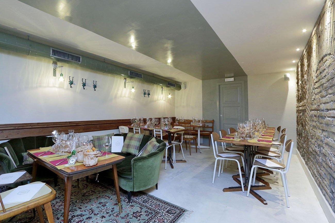 CONTESTO URBANO arredamento ristorante cocktail bar