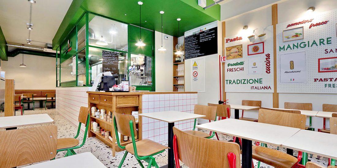 Maccheroni express arredamento ristorante street food
