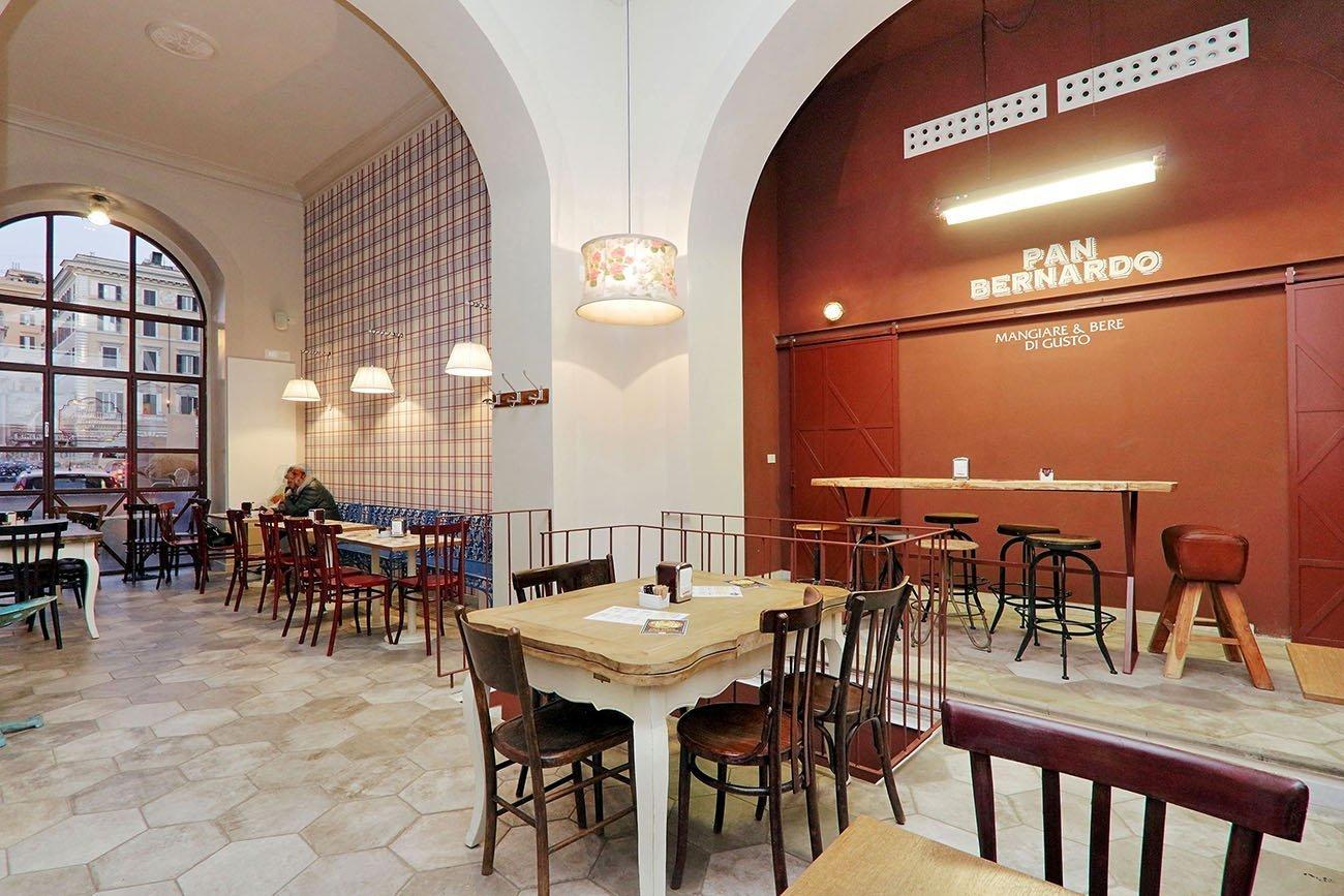Pan Bernardo arredamento ristorante street food