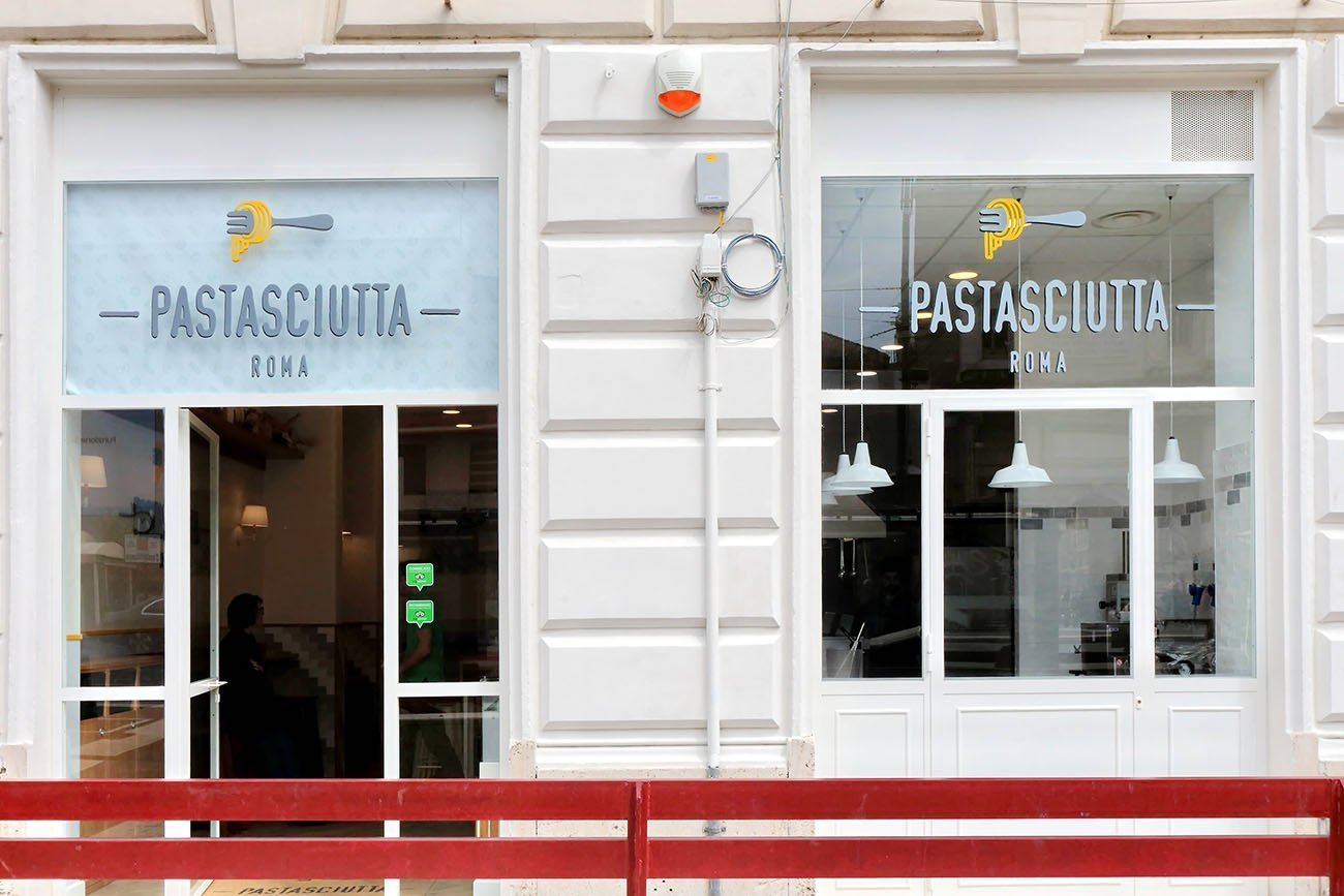 Pastasciutta arredamento street food