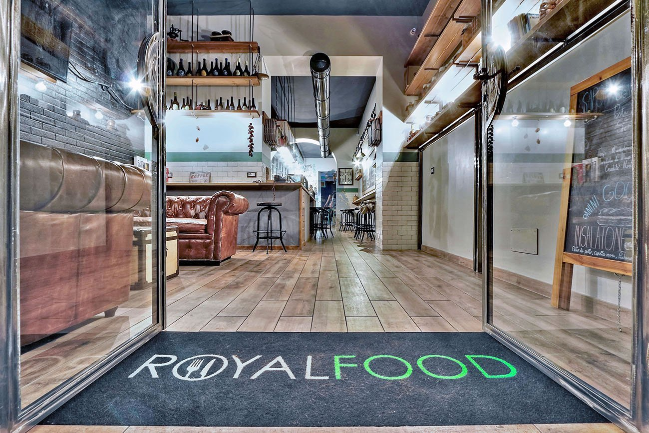 Royal Food arredamento Street Food Cocktail bar