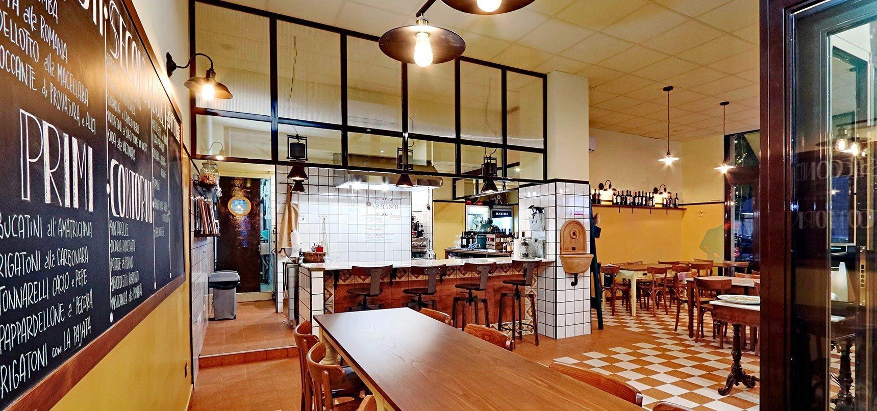 arredamento locali pubblici bar, ristoranti, caffetterie, panifici, paninoteche, pizzerie, cocktail bar, wine bar, enoteche, street food