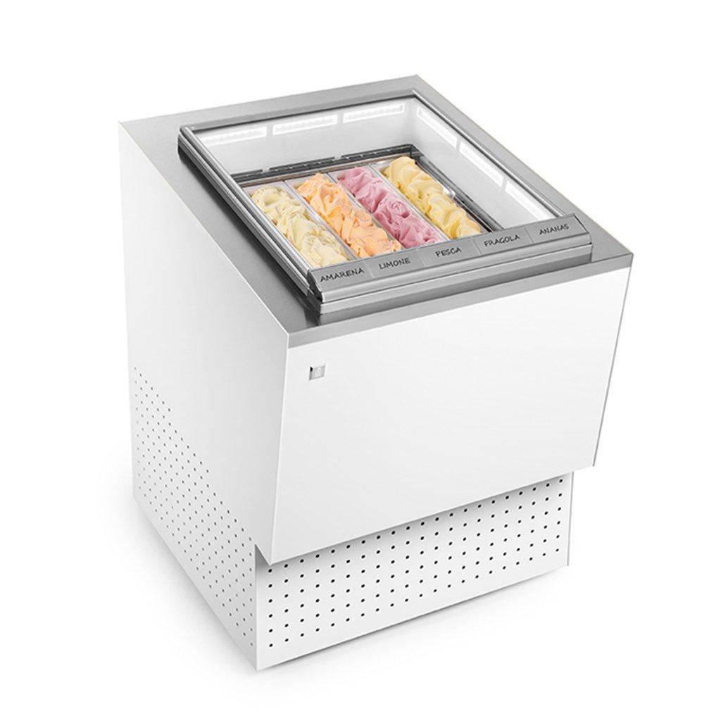 fornitura attrezzature pozzetto gelateria
