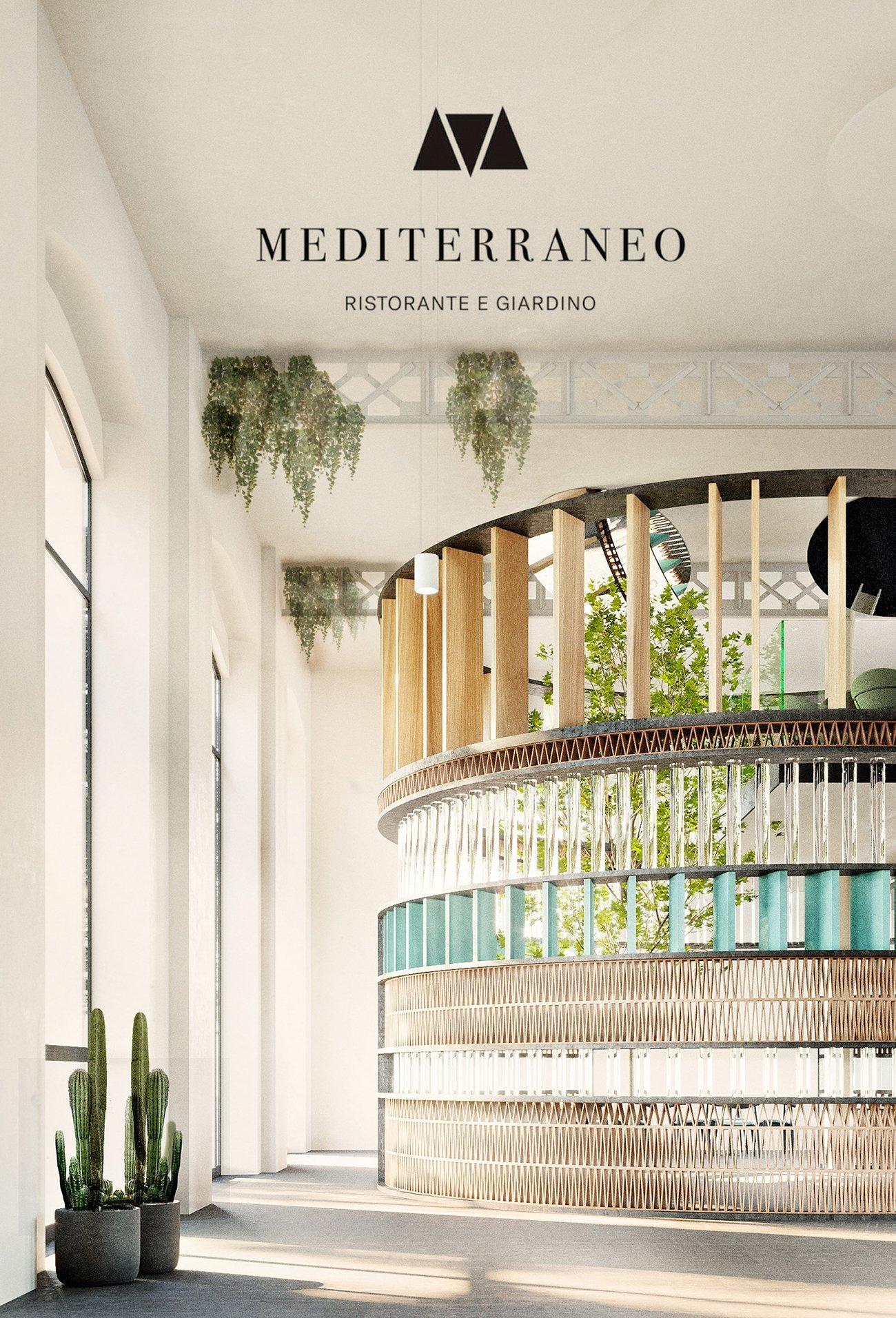 arredamento mediterraneo ristorante MAXXI