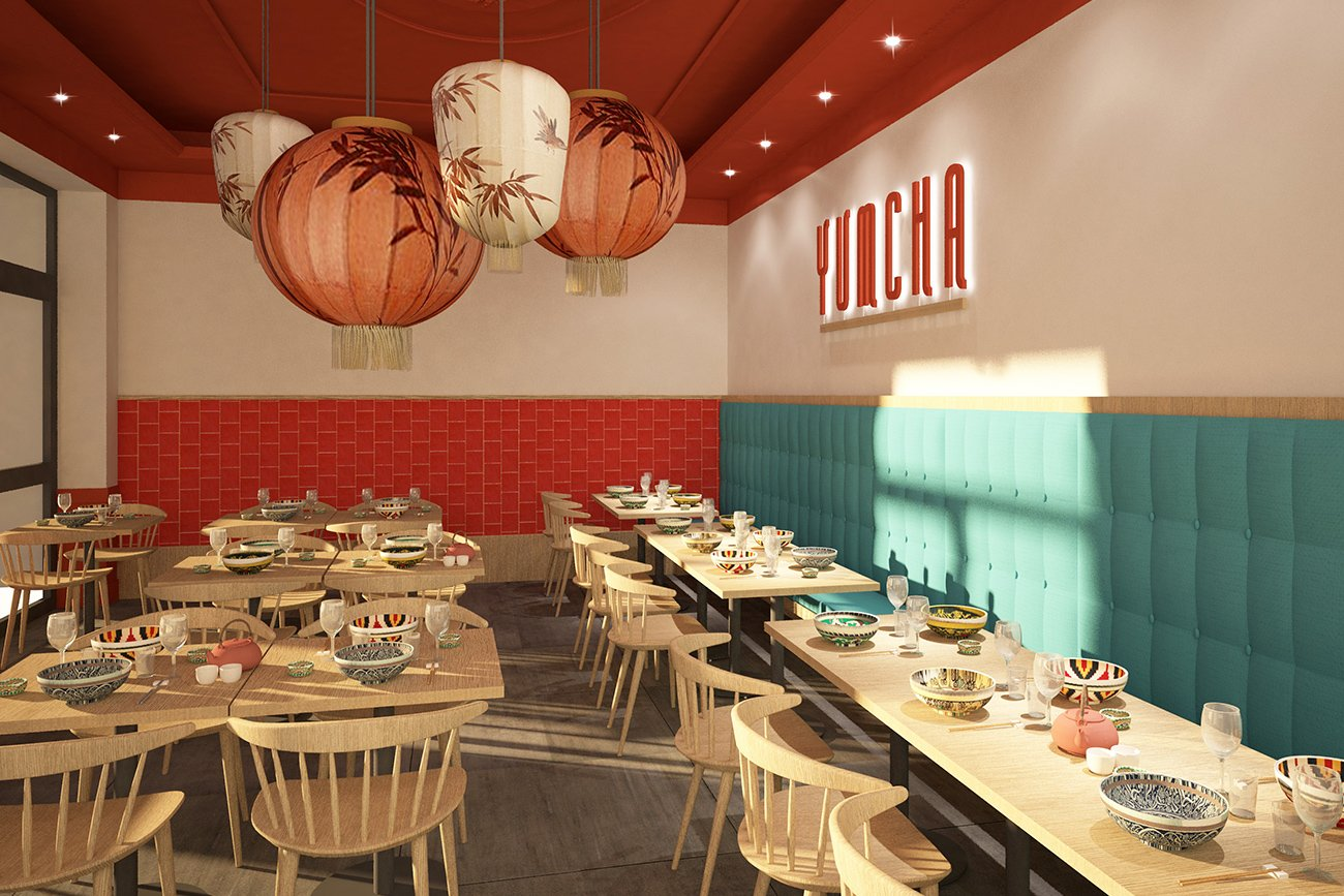 progettazione locali 3d yum cha