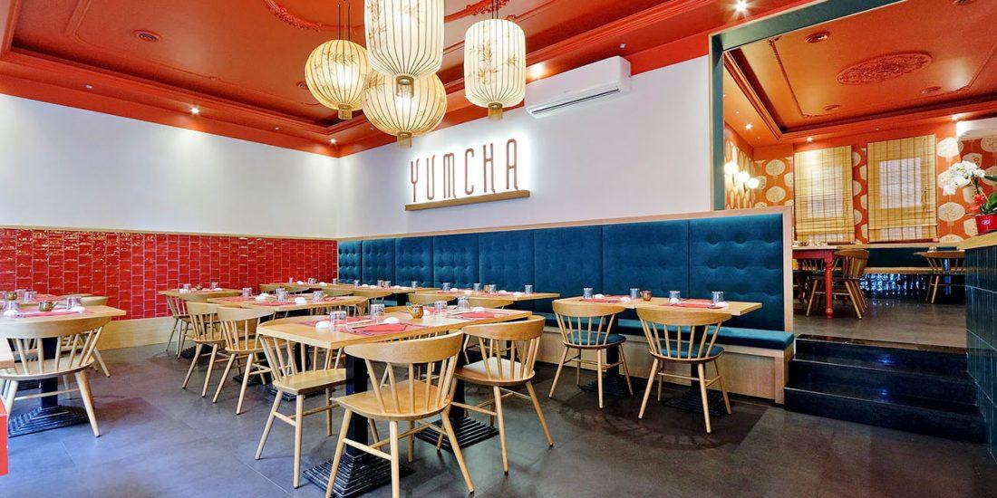 YUMCHA arredamento ristorante cinese